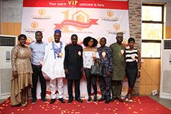 Abuja Team at The Citygate Dinner/Award Night