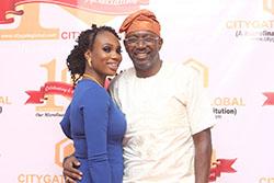 Chairman Citygate Global, and Mrs. Olamide Idowu at The Citygate Dinner/Award Night