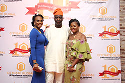 MD/CEO, ED & Mrs. Olamide Idowu at the Citygate Dinner/Award Night