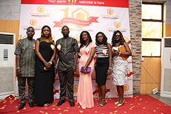 Asaba Team at the Citygate Dinner/Award Night