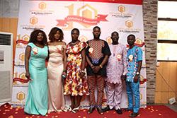 Ibadan Commercial Team atThe Citygate Dinner/Award Night