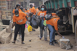 Community Service By Some Citygate staff, Environmental Sanitation