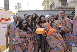 Cross-Section of Staff At The Customer Week