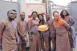 ED(Mrs. Anu Durojaye) & Some Staff During The Customer Week