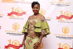 ED(Mrs. Anu Durojaye) at the Citygate Dinner/Award Night