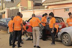 Community Service By Some Citygate staff, Environmental Sanitation
