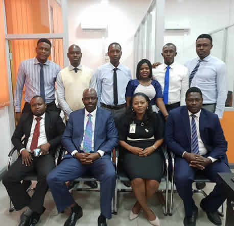 Victoria Island Branch commisioning